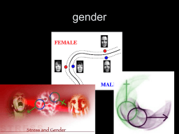 Gender and Socialization
