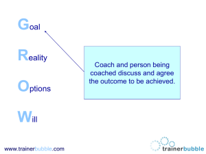 The Grow Model - Trainer Bubble