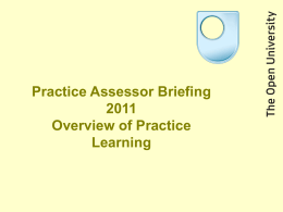 Practice learning on K216 and K315 3rd March 2011