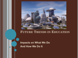 Future Trends in Education