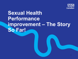 Sexual Health - London Sexual Health Programme