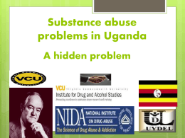 Substance abuse problems in Uganda-20111005