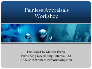 Painless Appraisals