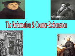 Reformation PowerPoint