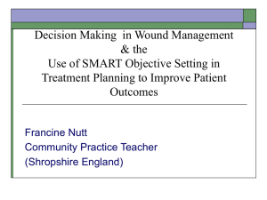 Decision Making in Wound Care Management