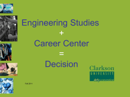 Career Center Seminar Presentation