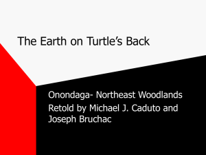 The Earth on Turtle`s Back