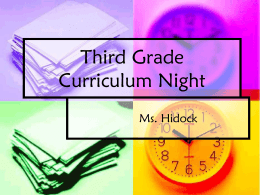 File - Ms. Hidock`s 3rd Grade Website