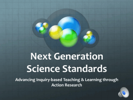 Advancing Elementary Science Inquiry