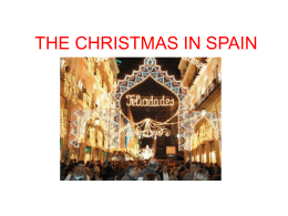 THE CHRISTMAS IN SPAIN
