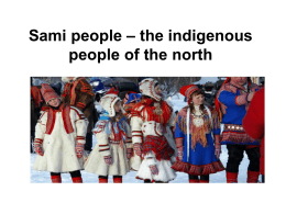 Sami people – the indigenous people of the north