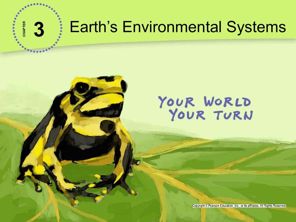 3.2 Systems in Environmental Science PowerPoint