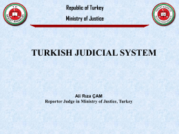 Turkish Judicial System