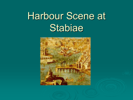 Harbour Scene from Stabiae
