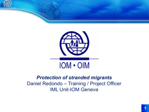 Protection of Stranded Migrants
