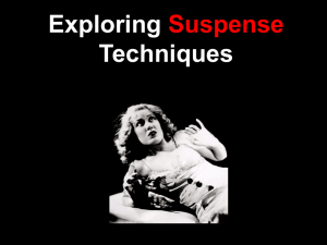 Suspense REVIEW PowerPoint - English With Miss Robinson