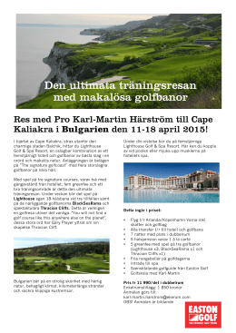 Bulgarien Ekerum-1 - Ekerum Golf & Resort