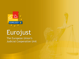 EUROJUST - College of Europe