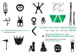 tribal art fair amsterdam 2014