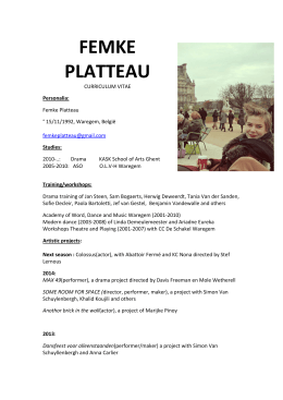 Download File - FEMKE PLATTEAU