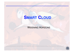 Smart Cloud Project