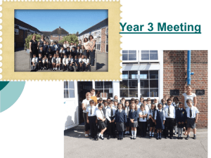 Year 3 Parents - Barnfield Primary School
