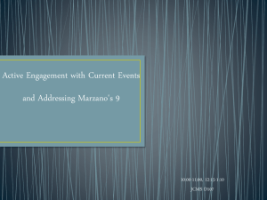 Allen and Pond Getting Current with Marazano`s 9 Instructional
