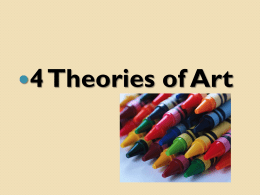 4 Theories of Art PP