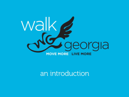 Walk Georgia and Georgia 4-H