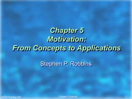Chapter 5 Motivation: From Concepts to Applications