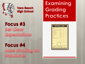 Focus #3: - Indian River County School District