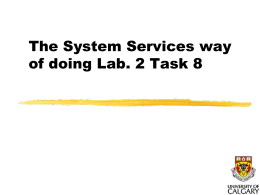 2 - Lab. 2 using Services