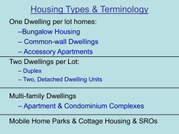 HousingTypesANDTerminology