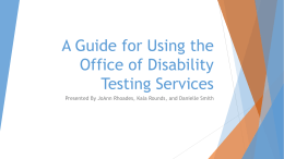 A Guide for Using ODS Testing Services