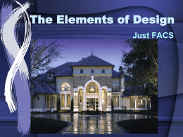 Ch. 17: The Elements of Design