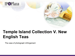 Temple Island Collection V. New English Teas