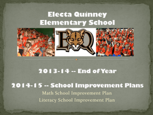 14-15 SIP Powerpoint Quinney 10-12-14