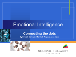 Interpersonal Relationships - Nonprofit Capacity Conference