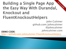 slide deck - johnculviner.com