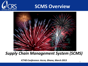 Supply Chain Managment System