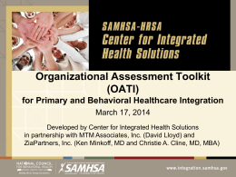 Organizational Assessment Toolkit