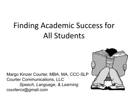 Margo-Kinzer-Couter-Finding-Academic-Success-for-all