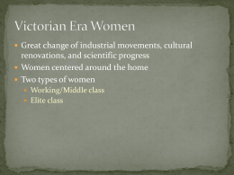 Carmilla, Sexuality, and Victorian Women Presentation