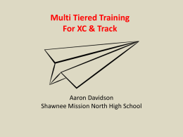 PowerPoint - Kansas Cross Country Track and Field Coaches