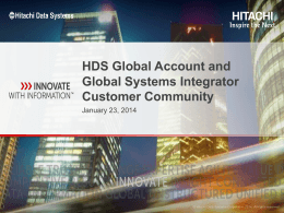 Critical components of the community - HDS Community