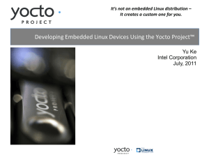 Freescale Yocto Project User's Guide