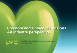 Pensions Reforms - LV presentation