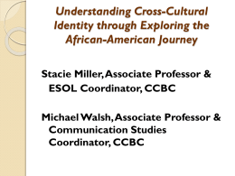 Understanding Cross-Cultural Identity through Exploring the