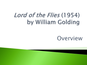 Lord of the Flies (1954) by William Golding