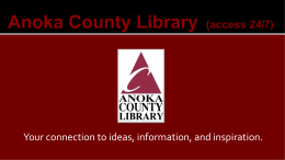 Kindle - Anoka County Library